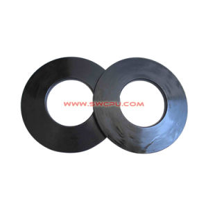 OEM Customized Rubber Silicon Thick Vibration Isolator Gasket / U Groove Buffer Washer pictures & photos