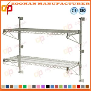 China Adjustable Metal Steel Garage Wall Mounted Wire Shelving