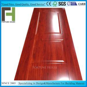 China Hdf Board Moulded Red Wood Melamine Door Skin China Melamine