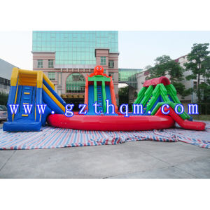 Kids Adults Giant Inflatable Water Park with Large Inflatable Pool/Inflatable Qqua Park pictures & photos