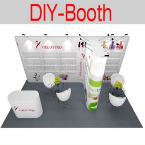 Customized Aluminum Reusable Fabric Trade Show Booth Exhibition Booth pictures & photos