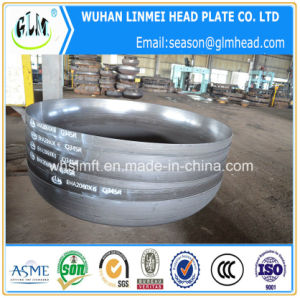 Tube End Cap Carbon Steel Ellipsoidal Head with Thickness 6mm pictures & photos