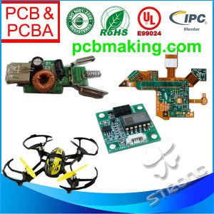 2 or 4 Layers PCB Assembly PCBA Module for Personal Drone, Air Vehicle Controlled by Remote, Telecontrol Device Units