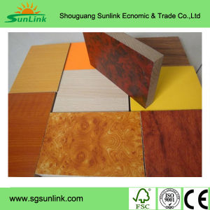 Natural Veneered Teak MDF with Good Price pictures & photos