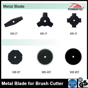 Powertec Gasoline Grass Trimmer Spare Parts, Steel Metal Blade (MB-2T) pictures & photos