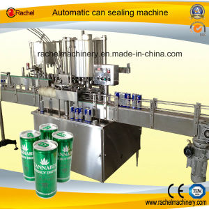 Automatic Beverage Tin Can Sealing Machine pictures & photos