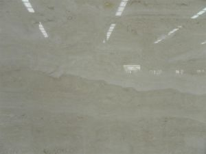 White Travertine Slab for Flooring Tiles and Building Materials