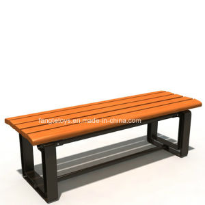 Park Bench, Picnic Table, Cast Iron Feet Wooden Bench, Park Furniture FT-Pb023