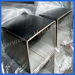 Polished 304 Stainless Steel Square Pipe for Decoration