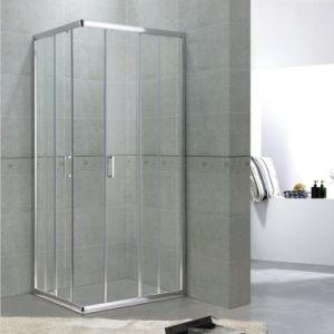 China Square Shower Enclosures Aluminium Design Toughened