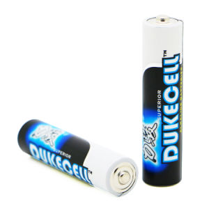 Full Power 0% Hg 1.5V AAA Am4 Lr03 Alkaline Battery pictures & photos