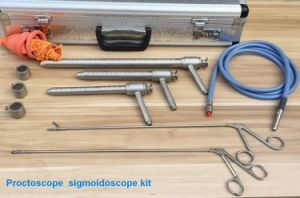 Anal Surgery Surgical Stainless Steel Proctoscope / Sigmoidoscope pictures & photos