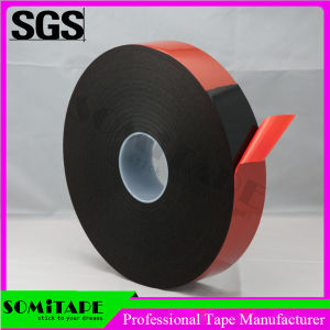 Somitape Sh333b05 Customized Black Foam Double Coated Tape for General Purpose pictures & photos
