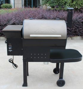 American Traeger Design Wood Pellet Charcoal BBQ Grill pictures & photos