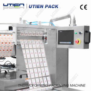 Automatic Thermoforming Vacuum Packaging Machine for Medical Device (DZL) pictures & photos
