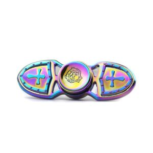 Most Popular Fingertips Metal Alloy Spiral Fingers Gyro Hand Toy Crazy Finger Fidget Spinner pictures & photos