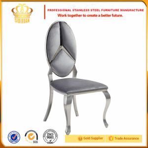 Luxurious Weddings Banquet Golden Stainless Steel Dining Chairs Set for Sale pictures & photos