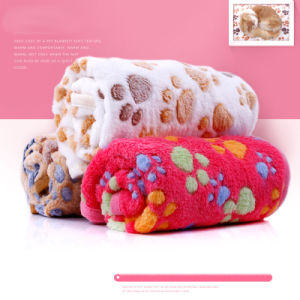 Paws Coral Velvet Soft Dog Pads Pet Sleep Cushion pictures & photos