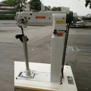 Single Needle Unison Feed High-Postbed Luggage Case Sewing Machine (ZH8365H) pictures & photos