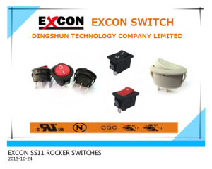 Ss11 Rocker Switch with 16A High Rating UL Switch