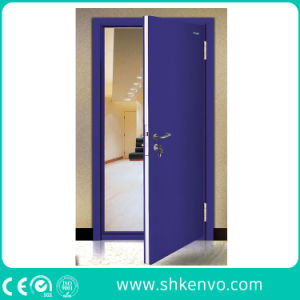 Commercial Double or Single UL and FM Certified Panic Fire Rated Metal Door with Vision Panel pictures & photos