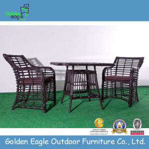 Poly Rattan Garden Table and Chairs