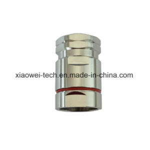 DIN Type Straight Male Connector for 7/8′′ RF Coaxial Cable