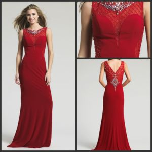 Crystals Party Prom Cocktail Gowns Spandex Evening Dress Ld152924 pictures & photos
