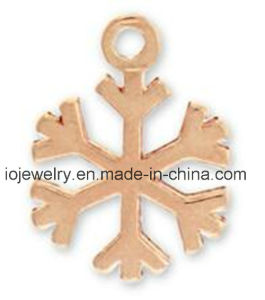 Sales Promotion Jewelry Snowflake Charm pictures & photos