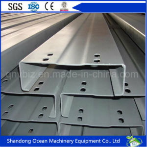 Prefabricated Section Steel C Purlin for Roofing System of Light Steel Structure pictures & photos