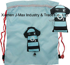Foldable Draw String Bag, Jersey, Convenient and Handy, Leisure, Reusable, Sports Events, Lightweight, Promotion, Accessories & Decoration pictures & photos