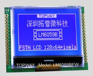 128X64 Graphic LCD Display Cog Type LCD Module (LM6059B) pictures & photos