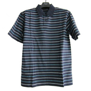 Men′s Double Mercerized Cotton T-Shirt (11CH-0490)