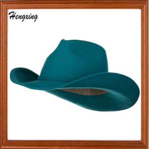 5145764dcc885 China Turquoise Woman′s Felt Cowboy Hats - China Fedora Hats