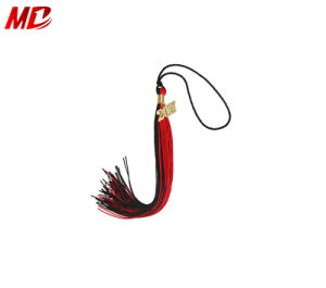 The Most Popular Graduation Tassel Charm Black Red in Stock