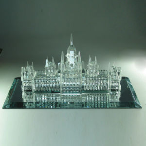 3D Crystal Building St. Vitus Cathedral Church (M1)