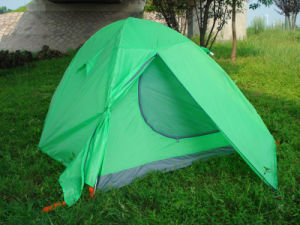 Camping Tent for 2 Person, Outdoor Tent, Double Skin Folding Tent (HWT-221AG) pictures & photos