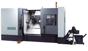 CNC Lathe Machine with Slant Bed (Slat Bed CNC Lathe CLK6140S CLK6150S) pictures & photos
