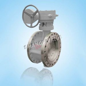 Gear Operation Flanged Butterfly Valve
