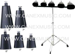 Cowbell/Cowbell with Stand (CX-05) /Percussion Instrument Cowbell pictures & photos