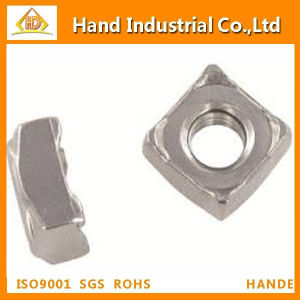 DIN928 Stainless Steel Square Weld Nut pictures & photos