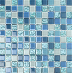Crystal Mosaic Tile Glass Mosaic (HGM215) pictures & photos