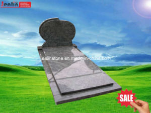 Netherland Style Monument, Tombstone in Olive Green Granite (JBH-001)