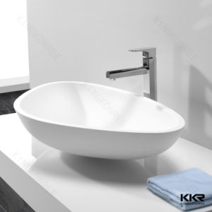 Artificial Stone Counter Top Basin, Bathroom Vanity Sink pictures & photos