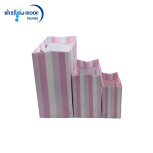 Luxury Custom Paper Gift Packaging Bag with Handle (AZ-121719)