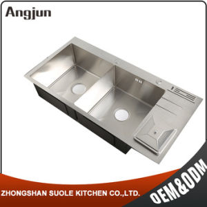 Hot Selling Fashion Rohs Compliant Industrial Kitchen Sink With Trash Can