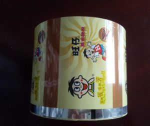 Hot Sell Laminated Aluminium PE Pouch Film for Coffee Powder pictures & photos