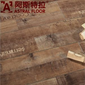 2015 Hotsale New Product 12mm HDF Letter Laminate Flooring (AST50) pictures & photos