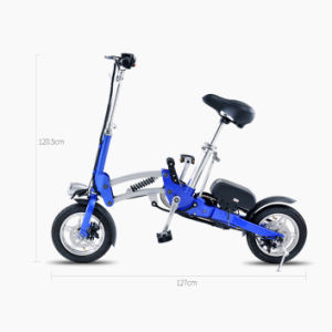 Factory Supply 12 Inch Folding Electric Bike with Samsung Lithium-Ion Battery