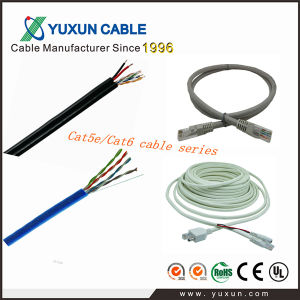 UTP/FTP Cat5e CAT6 RJ45 4pairs Network Cable LAN Cable